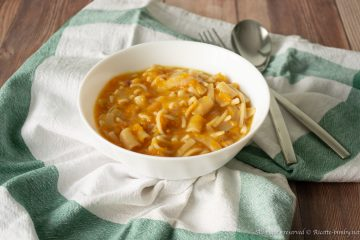 Pasta e zucca Bimby