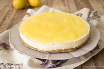 Cheesecake al limone senza cottura Bimby